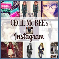 CECIL McBEE's Instagram