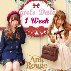 girls Date 1week