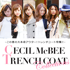 �yCECIL McBEE�z TRENCH COAT Collections