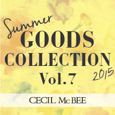 �yCECIL McBEE�zGoods Collection Vol.7!