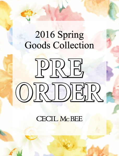 2016 Spring Goods Collection PRE ORDER