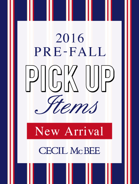 PICK UP ITEM 2016  PREFALL COLLECTION