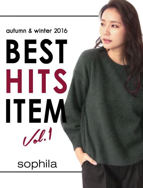 sophila presents 2016AW BEST HIT ITEM