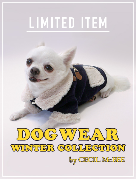 CECIL McBEE DOG WEAR☆