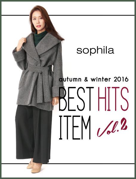 sophila presents 2016AW BEST HIT ITEM Vol.2