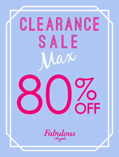 CLEARANCE SALE Max 80%OFF!!