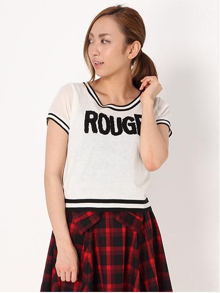 商品画像:配色ロゴ半袖トップス配色ロゴ半袖トップス(ホワイトM)3120600340101