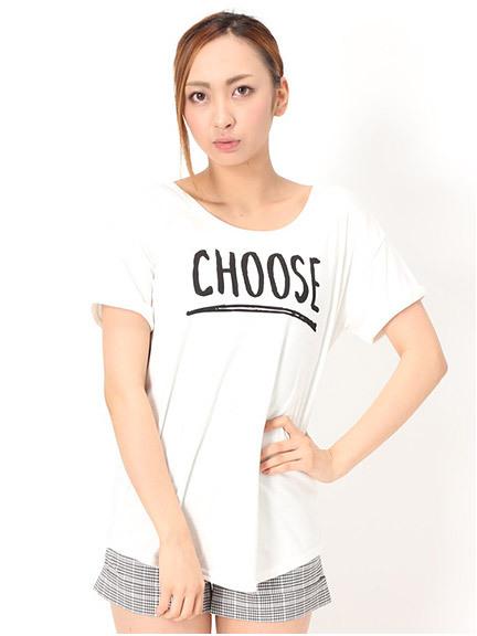 商品画像:CHOOSEロゴTシャツCHOOSEロゴTシャツ(オフホワイトM)3125526040103
