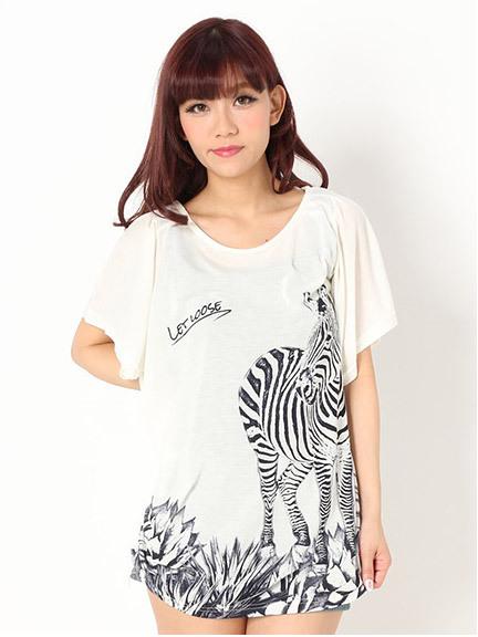 商品画像:BIGセブラTシャツBIGセブラTシャツ(アイボリーM)3325245240102