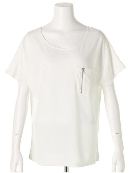 商品画像:ZIPポケットTシャツZIPポケットTシャツ(オフホワイトM)3325453440103