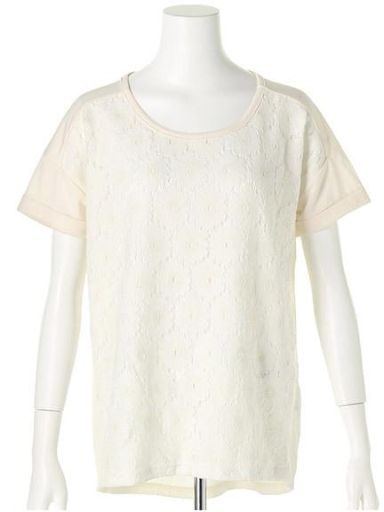 商品画像:フロントレース切替Tシャツフロントレース切替Tシャツ(オフホワイトF)3325456240003