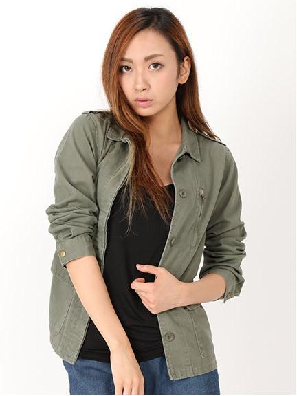 商品画像:ミリタリーシャツジャケットミリタリーシャツジャケット(AM)3415606940181