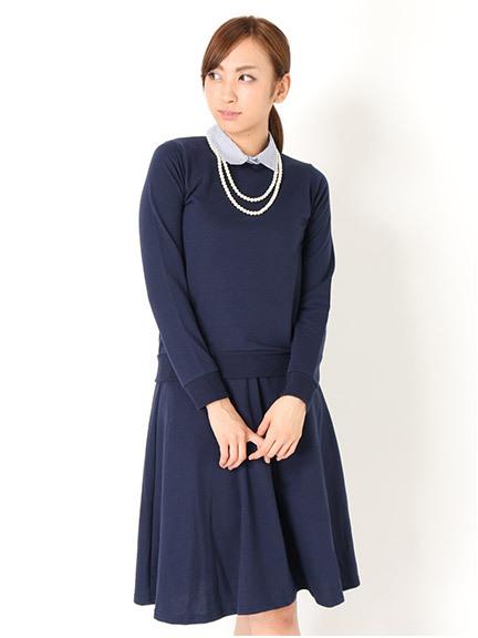 商品画像:ネックレス付きシャツレイヤード風裏毛セットアップネックレス付きシャツレイヤード風裏毛セットアップ(ブラックM)3414601640180