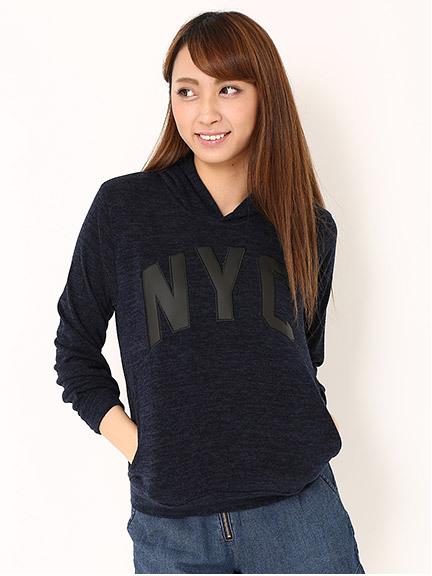 商品画像:NYCロゴパーカープルオーバーNYCロゴパーカープルオーバー(ネイビーM)3425800540152